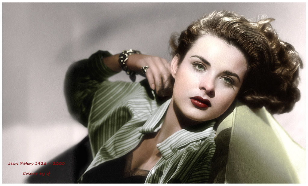 Jean Peters, la Marilyn corvina